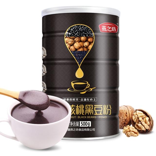 燕之坊 芝麻核桃黑豆粉  高蛋白质 高膳食纤维 500g