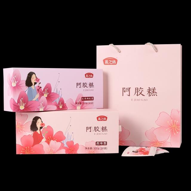 燕之坊 阿胶糕(红枣枸杞型) 300g