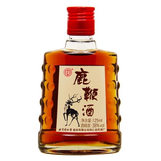 北京同仁堂 同仁鹿鞭酒38度(125ml/瓶)