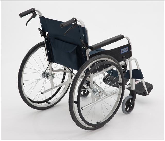 MIKI航太铝合金轮椅 手动轮椅车 MPT-43JL 行动困难 残疾人病人 年老体弱者 折叠轻便