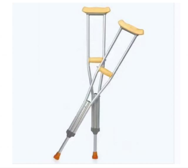 百德百福 医用铝制腋下拐 铝合金A01 可调节 行动障碍  辅助行走站立  康复训练
