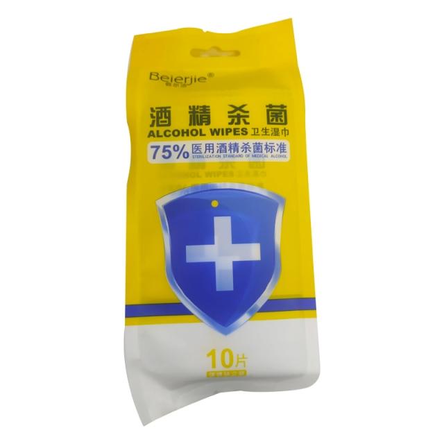 信尔洁酒精杀菌卫生湿巾 170mm*150mm(±5mm)
