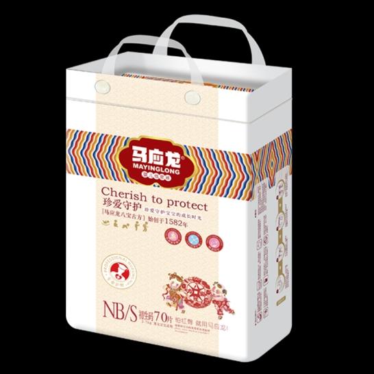 马应龙  珍爱守护婴儿纸尿裤S码(70片/包)