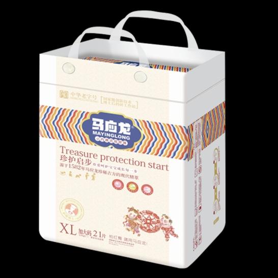 马应龙  珍护起步拉拉裤XL码(21片/包)