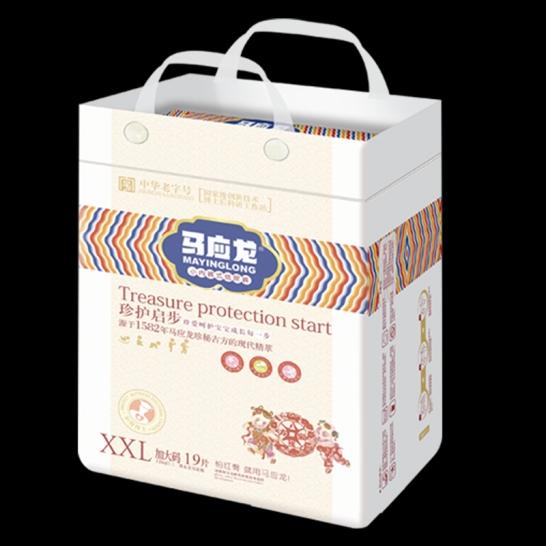 马应龙  珍护起步拉拉裤XXL码(19片/包)